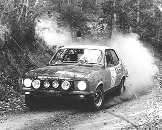 Colin Bond - Bond and Shepheard in the Holden Dealer Team Torana GTR XU-1 on their way to another win in the Warana Rally, round four of the 1972 Australian Rally Championship.