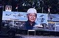 Collectie NMvWereldculturen, TM-20019414, Dia- Schildering ter gelegenheid van het 40-jarig jubileum van de viering van Onafhankelijkheidsdag, Henk van Rinsum, 08-1985.jpg