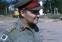 Colonel Ted Serong, CIC Australian forces in Saigon, Vietnam