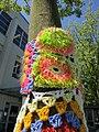 Colourful yarn bomb (7766196588).jpg