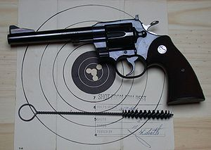 "English: Colt ""357"" Magnum"