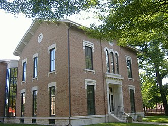 National Register of Historic Places listings in Bartholomew County, Indiana - Image: Columbus IN Visitor Center