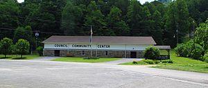 Council, Virginia - Community Center in Council