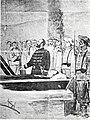 Composición representando al Coronel Ximénez de Sandoval en su breve discurso al ser inhumado el cadáver de José Martí, 1895.jpg