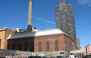 New York City steam system - East 74th Street plant