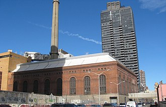 New York City steam system - East 74th Street plant