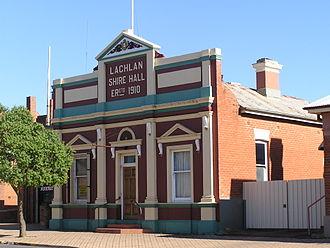 Condobolin - Shire Hall built 1910