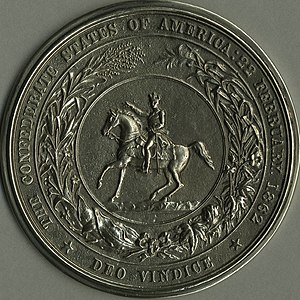 Great Seal of the Confederate States of America - Image: Confederate Seal
