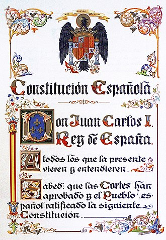 Constitution of Spain - Original preface to the Spanish Constitution