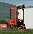 Container straddle carrier in Ellensburg, Washington, 2006.jpg