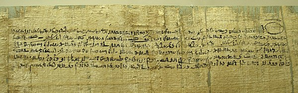 Demotic egyptian wikiwand contract in demotic writing with signature of a witness on the verso papyrus ptolemaic era fandeluxe Choice Image