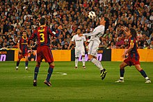 07c2d5f705b Scene from a 2011 El Clásico at the Santiago Bernabéu Stadium