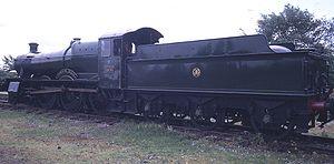 GWR 7800 Class 7808 Cookham Manor - Cookham Manor.