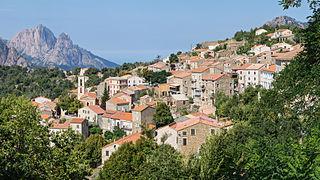 Évisa Commune in Corsica, France