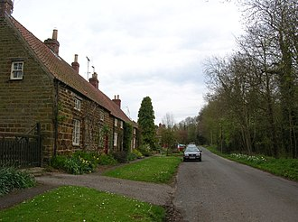 Howsham, North Yorkshire - Image: Cottages in Howsham geograph.org.uk 790637