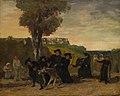Courbet - Le retour de la conférence, 1863.jpg