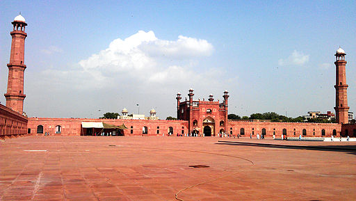 Courtyard of Badshahi Mosque