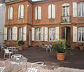 Courtyard of Hotel Riquet, Rue Riquet, Toulouse, France - panoramio.jpg