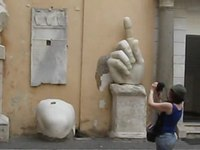 Файл:Courtyard of the Capitoline Museum Rome.ogv