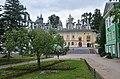 Courtyard of the Pechory Monastery in Russia.jpg