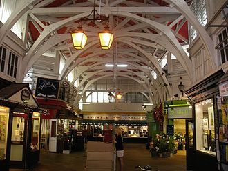 Arcade (architecture) - Image: Covered Market Inside