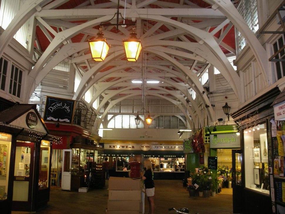 Covered Market Inside