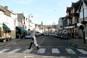 Cowbridge - Image: Cowbridge High Street
