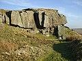 Crags on Goldsborough - geograph.org.uk - 684886.jpg