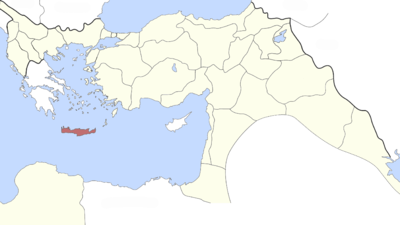 Cartina Geografica Dell Isola Di Creta.Eyalet Di Creta Owlapps