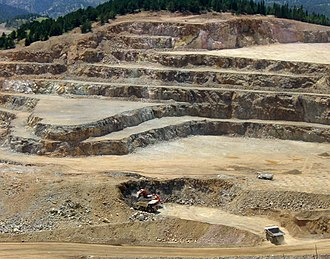 Cripple Creek & Victor Gold Mine - Image: Cripple Creek and Victor Mine Victor Colorado