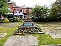 Cross in St Mary's Churchyard, Cheadle.jpg