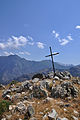 Cross on Monte San Parteo Corsica.jpg