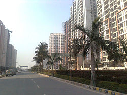 Crossings Republik, a township in Ghaziabad on NH 24