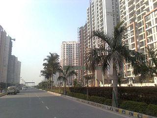 Ghaziabad Metropolis in Uttar Pradesh, India