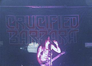 Crucified Barbara band