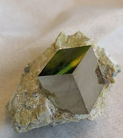 Cubic Pyrite In Matrix.jpg