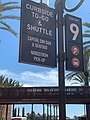Curbside To-Go & Shuttle sign at Irvine Spectrum Center.jpeg