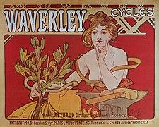 Cycles Waverley affiche Mucha 1898.jpg