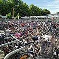Cykelparkering Trinageln södra uppgången.jpg