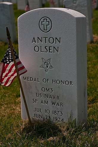 United States Department of Veterans Affairs emblems for headstones and markers - Image: Cypress hills 23