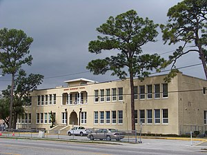 Daytona Beach Multiple Property Submission - Image: Cypress st school