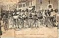 Départ de course cycliste à Mauléon (1920).jpg