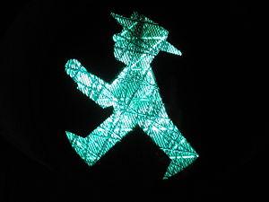 Ostalgie - An Ost-Ampelmännchen crosswalk light