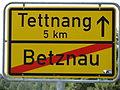 D-BW-Kressbronn-Betznau - Ortsschild nach Tettnang.JPG