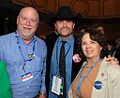 DMr and Mrs Jerry Waller with John Rich (1711271625).jpg