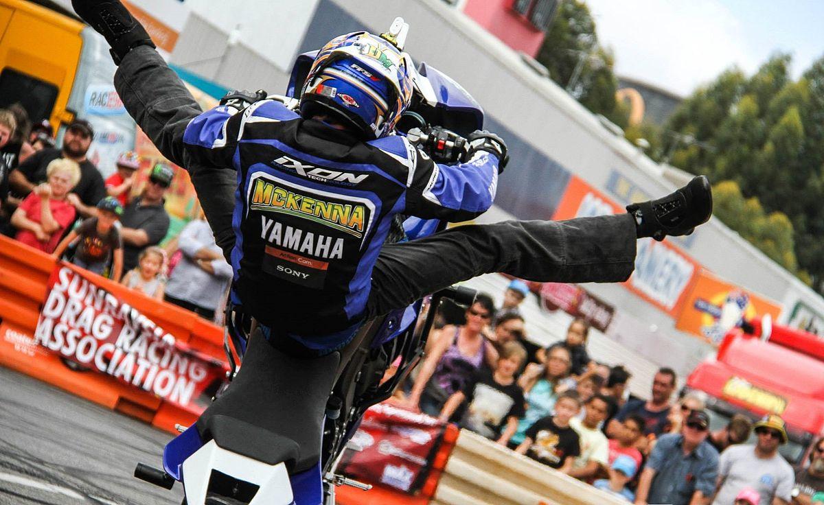 Dave McKenna (stunt rider) - Wikipedia