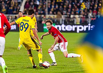 Daley Blind - Blind playing for United in 2017
