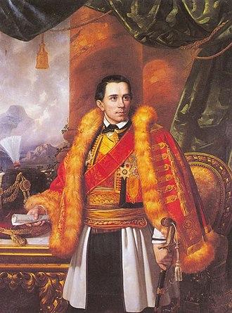 Danilo I, Prince of Montenegro - Painting.