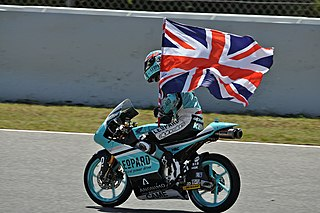 Danny Kent English motorcyclist