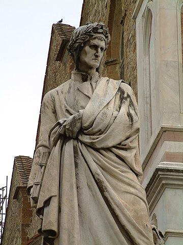 Памятник Данте 1865г. Флоренция. Работа скульптора Э. Пацци